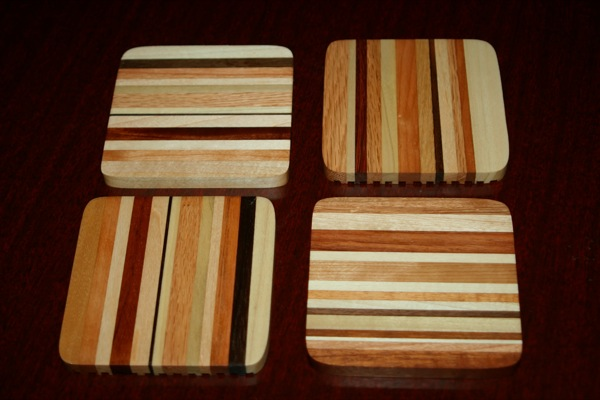 Set of four coasters No.2