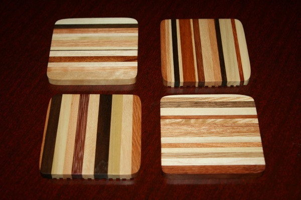 Set of four coasters No.3