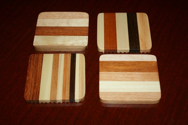 Set of four coasters No.4
