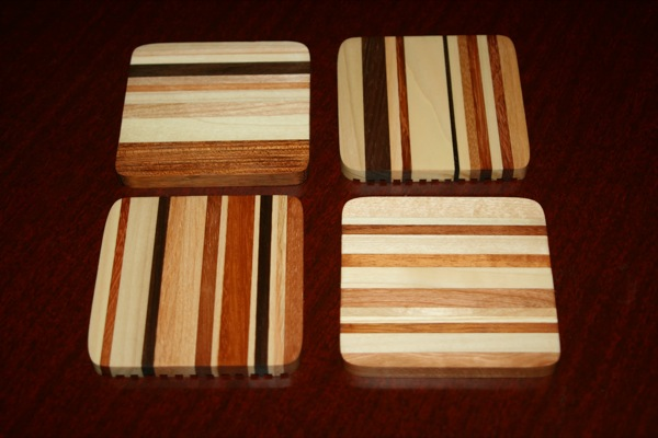 Set of four coasters No.5