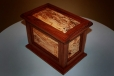 Urn No.2 Alternate View - Jatoba and spalted beech